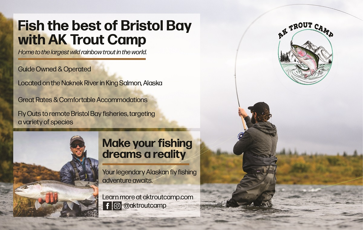 New Supporter: AK Trout Camp