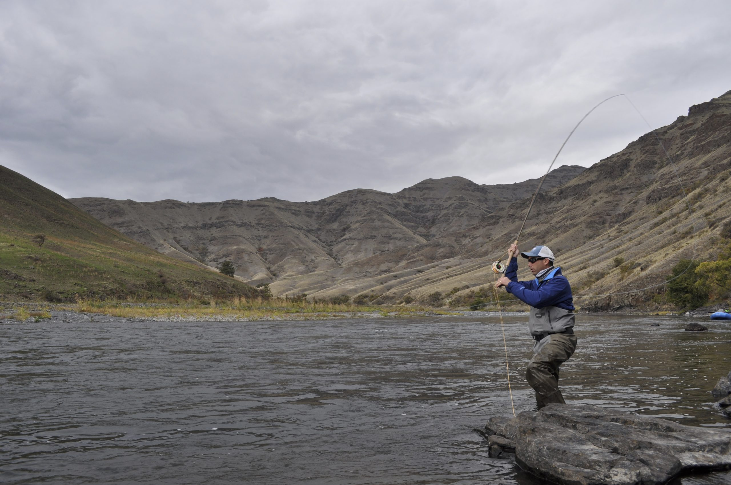 """""""Circling Up"""" in Spey Casting"""